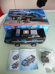 Playmobil 5564 SEK-Einsatztruck mit Licht und Sound OVP vollständig