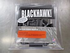 BLACKHAWK! 430613BK-R Tactical Serpa Holster RH Fits Glock 20/21/37/38