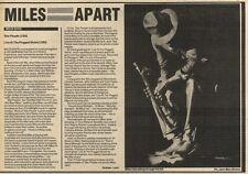 28/5/83PN29 ALBUM REVIEW: MILES DAVIS