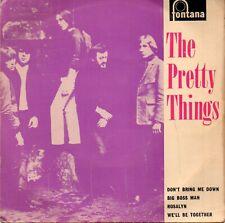 The Pretty Things 7' Vinyl Single 1964 Rare UK Single Mono EP Fontana TE 17434