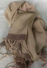 NEW Beige Scarf Silk & Cashmere Soft Warm, Flowing Classic Fashion item