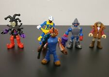 Fisher price imaginext figures lot 5 with accessories.