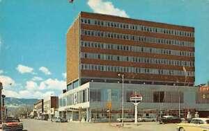 Casper Wyoming First National Bank Vintage Postcard AA7556