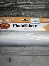 "Crafter's Images Sew-In PhotoFabric 8.5""X100""-100% Cotton Twill"
