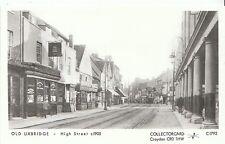London Postcard - Old Uxbridge - High Street c1905 - U852