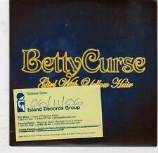 (EJ782) Betty Curse, Girl With Yellow Hair - 2006 DJ CD