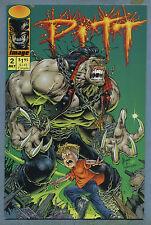 Pitt #2 1993 Brian Hotton Dale Keown Image Full Bleed Studios Comics E