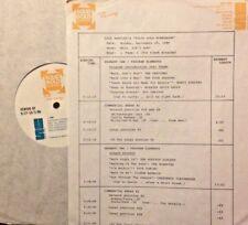 RADIO SHOW: 9/29/86 WALK DON'T RUN! VENTURES, 4 SEASONS,ROY ORBISON,NEIL DIAMOND