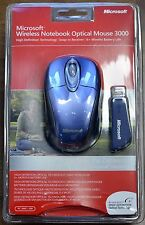 Microsoft 2.4GHz Wireless Mouse 3000  BX3-00020