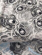 Tissu querelastischer Feinjersey viscose nylon lycra multicolore au mètre