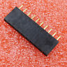 10PCS 1x10 Single Row 10 Pins PCB Socket Female Header 2.54mm