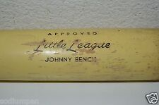"Vintage Cincinnati Reds JOHNNY BENCH Little League H&B 28"" Baseball Bat RARE"