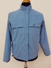 D238 WOMENS NIKE LIGHT BLUE TRACKSUIT TRACK JACKET TOP SMALL S 4-6