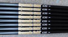 "NEW 4-SW DYNAMIC GOLD 105 ONYX  EXTRA STIFF (X) FLEX .355"" TAPER TIP IRON SHAFTS"
