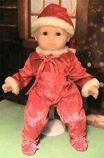 Adorable Santa's Helper Suit for Baby Dolls