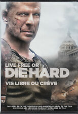 Live Free or Die Hard - Dvd Widescreen - Has Both Theatrical & Unrated Versions