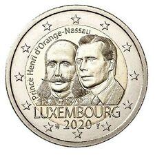 Luxemburg 2 euro  2020-** Prins-hendrik-van-Orange-nassau**
