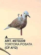 (4STD239) STAMPO TORTORA POSATA IN PLASTICA PER CACCIA SPORT PLAST