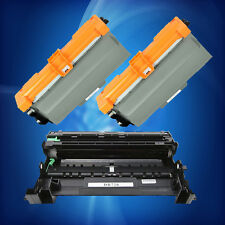 2PK TN750 Toner + 1PK DR720 Drum For Brother MFC-8710DW / 8910DW DCP-8155D
