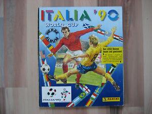 Panini WM/ WC 1990 Album mit allen Stickern. Top Zustand !!! kein Reprint !!!