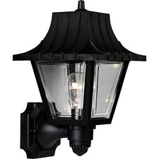 Black 1-Lt. Wall Lantern with Clear Beveled Acrylic Acrylic Panels P5814-31 by P
