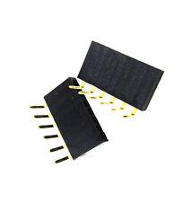 50pcs 1x6 Pin 254mm Right Angle Single Row Female Pin Header Connector New