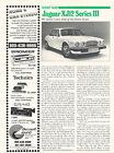 1979 Jaguar XJ12 Series III - Original Car Print Article J245