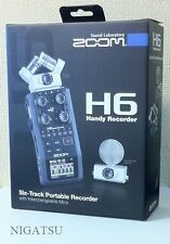 NEW ZOOM H6 Handy Recorder Interchangeable Microphone Linear PCM