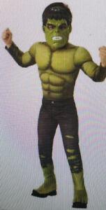 Marvel Avengers AV4 Endgame Deluxe Hulk Kids Costume Size Small 4-6