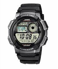 Casio AE1000W-1BV, Digital Men's Watch, 100M, 5 Alarms, Chronograph, Resin