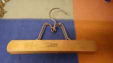 Vintage Setwell Wood Hanger Pants Clothes