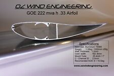Motor Racing,Rally,Drag /Car,Kart-Rear Wing /Spoiler GOE222Airfoil1.1~2mtr Alu