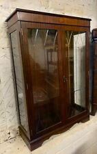 Reproduction Mahogany Glazed Display Cabinet