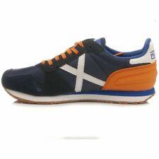 scarpe sneakers uomo sportivo munich-8620357 massana 357 blu/arancio primavera
