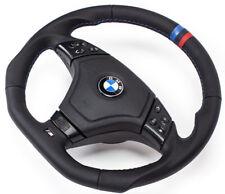 Aplati Volant en Cuir Multifonctionnel avec Airbag BMW E46 M3 Volant 3P
