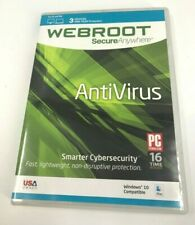 Webroot Software Secure Anywhere Antivirus - 3 Users /1 Year Protection #1088