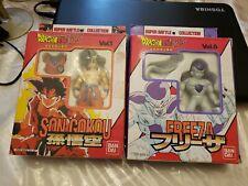 Bandai DragonBall Z Super Battle Collection Vol 1  Son Gokou & vol 6 Freeza DBZ