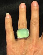 KumKum Celadon Sterling Silver Ring