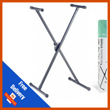 Stagg KXS-A35 Single X Frame Height Adjustable Folding Steel Keyboard Stand