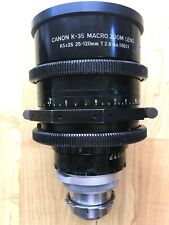 CANON K35 MACRO ZOOM LENS 25-120mm T2.8 Duclos Modified