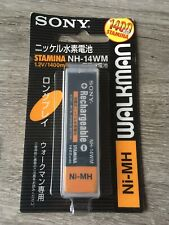 Batterie SONY NH-14WM 1.2V Rechargeable Ni-MH 1400mAh Walkman Discman Minidisc