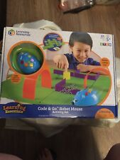 Nib Learning Resources Ler2831 Code and Go Robot Mouse Activity Set 83 Pcs Stem