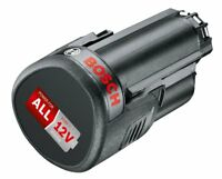 Batería Recargable Bosch 1600A00H3D de Litio PBA 12 (12 V, 2,5 Ah) Power for all