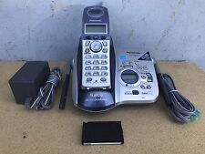 Panasonic KX-TG5431S Single Handset 5.8GHz Cordless Phone Answering System 5431