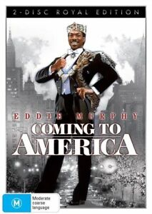 Coming To America DVD (NEW & SEALED) fast safe shipping & tracking