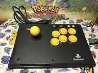 Namco Arcade Stick for PS1 Very Clean , Tested !