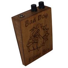 Bad Dog Volume and Tone Control Stompbox Rhythm Foot Drum Cigar Box Guitar