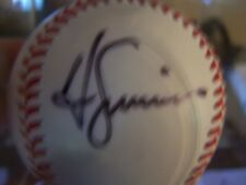 Ted Simons autographed ball March 2008