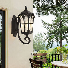 Retro Exterior Wall Light Roman Wall Lamp Garden Light Lamp Sconce Fixtures E26