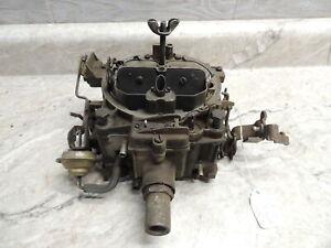 GM Rochester Quadrajet Carburetor 7028240 HD 1968 Buick 430, Complete